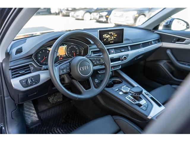 2018 Audi A4 2.0T Progressiv (Stk: N4823) in Calgary - Image 9 of 18