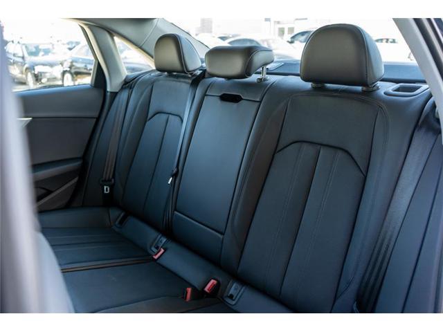 2018 Audi A4 2.0T Progressiv (Stk: N4823) in Calgary - Image 16 of 18