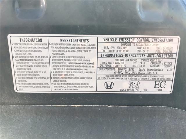 2014 Honda Civic EX (Stk: EH000680) in Sarnia - Image 23 of 23