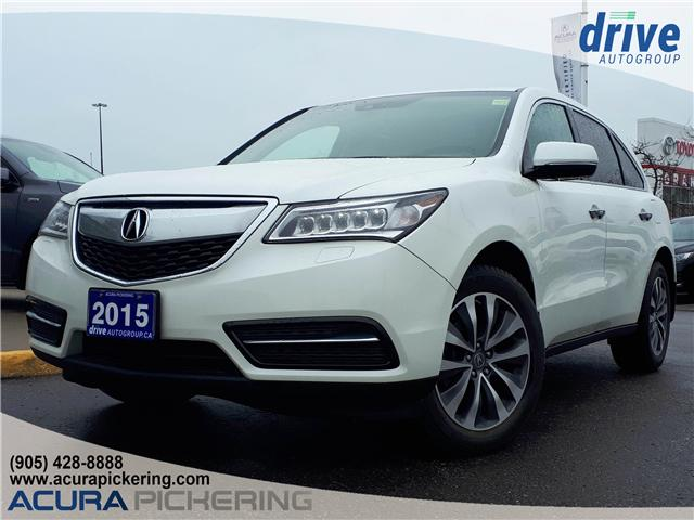 2015 Acura MDX Technology Package (Stk: AP4804) in Pickering - Image 1 of 22