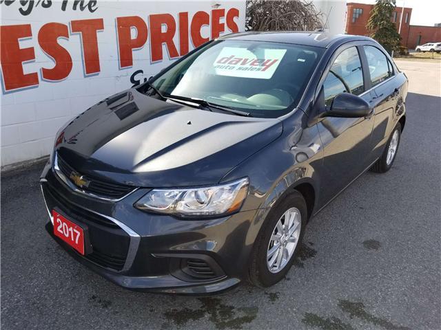 2017 Chevrolet Sonic LT Auto (Stk: 19-236) in Oshawa - Image 1 of 14