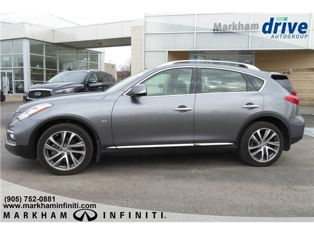 2017 Infiniti QX50 Base (Stk: P3182) in Markham - Image 2 of 27