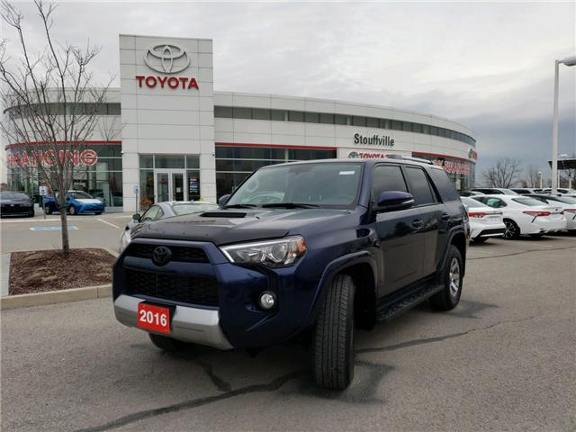 2016 Toyota 4Runner SR5 (Stk: P1772) in Whitchurch-Stouffville - Image 1 of 17