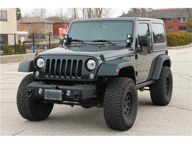 2017 Jeep Wrangler Sport (Stk: 1904140ZT) in Waterloo - Image 1 of 27