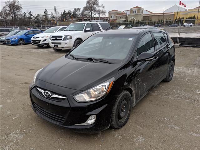 2013 Hyundai Accent GLS (Stk: H4717A) in Toronto - Image 1 of 6