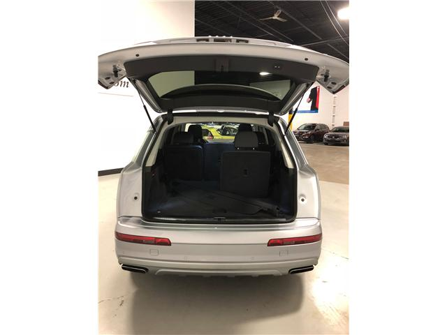 2017 Audi Q7 3.0T Progressiv (Stk: W0222) in Mississauga - Image 8 of 30