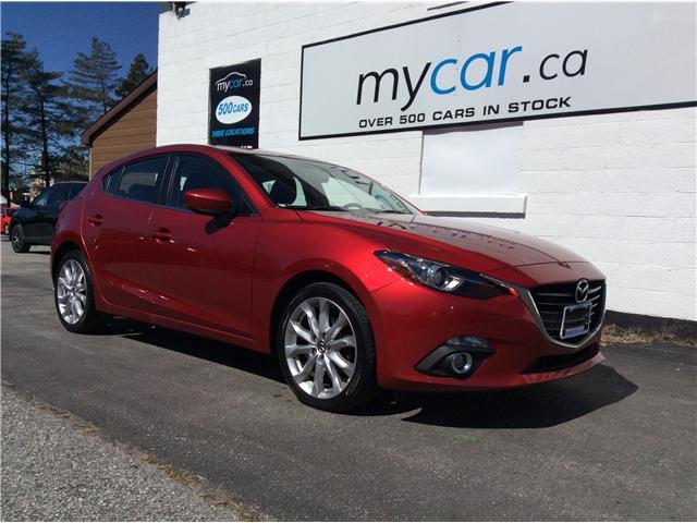 2015 Mazda Mazda3 Sport GT (Stk: 190381) in North Bay - Image 1 of 19