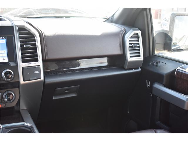 2017 Ford F-150 Platinum (Stk: p36415) in Saskatoon - Image 21 of 28