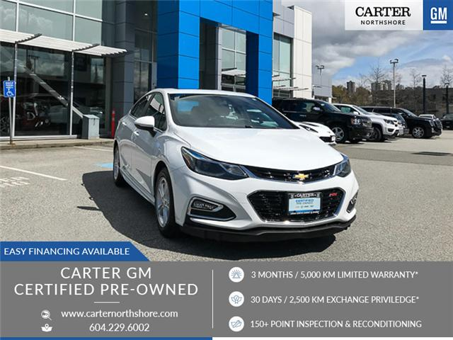 2016 Chevrolet Cruze LT Auto (Stk: 972110) in North Vancouver - Image 1 of 26