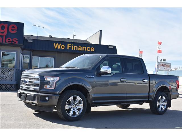 2017 Ford F-150 Platinum (Stk: p36415) in Saskatoon - Image 1 of 28