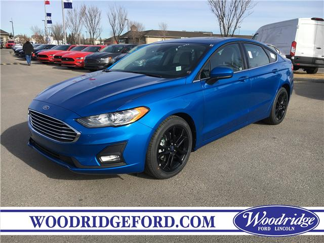 2019 Ford Fusion SE (Stk: K-291) in Calgary - Image 1 of 5