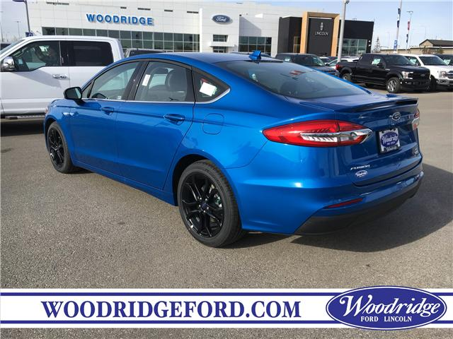2019 Ford Fusion SE (Stk: K-291) in Calgary - Image 3 of 5