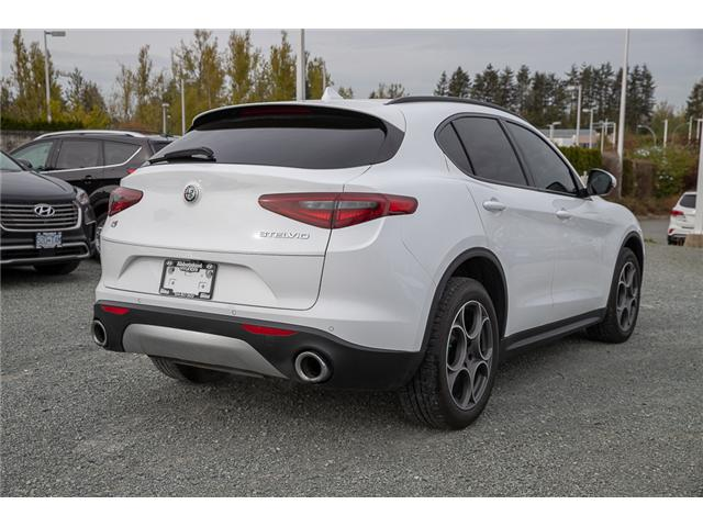 2018 Alfa Romeo Stelvio Base (Stk: KE826302A) in Abbotsford - Image 6 of 30