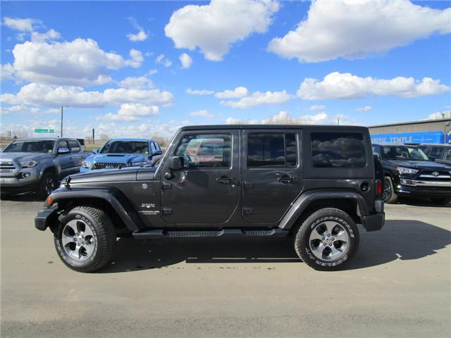 2017 Jeep Wrangler Unlimited Sahara (Stk: 7869) in Moose Jaw - Image 2 of 29