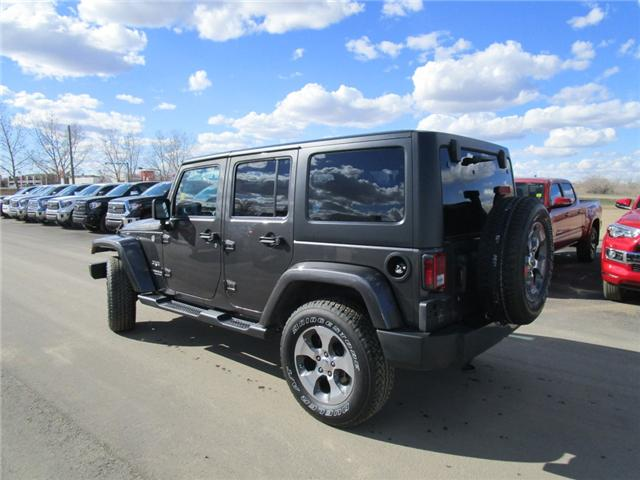 2017 Jeep Wrangler Unlimited Sahara (Stk: 7869) in Moose Jaw - Image 3 of 29