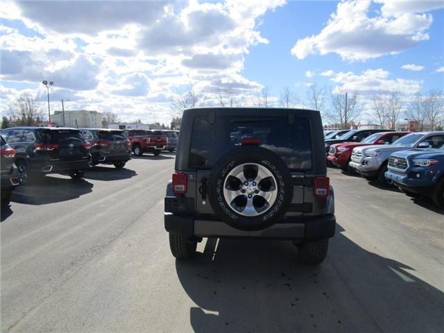 2017 Jeep Wrangler Unlimited Sahara (Stk: 7869) in Moose Jaw - Image 6 of 29