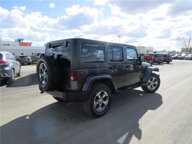 2017 Jeep Wrangler Unlimited Sahara (Stk: 7869) in Moose Jaw - Image 9 of 29