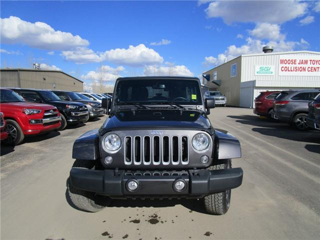 2017 Jeep Wrangler Unlimited Sahara (Stk: 7869) in Moose Jaw - Image 8 of 29