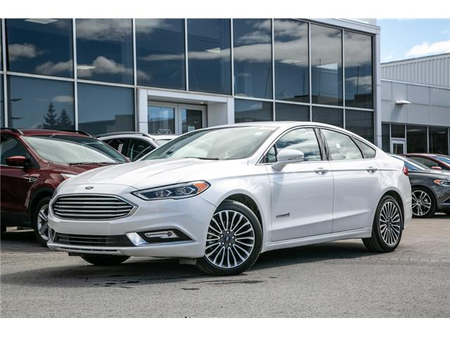 2018 Ford Fusion Hybrid TITANIUM LEATHER-NAV-POWER ROOF-17,000 KMS (Stk: 948990) in Ottawa - Image 1 of 29