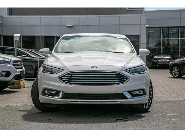 2018 Ford Fusion Hybrid TITANIUM LEATHER-NAV-POWER ROOF-17,000 KMS (Stk: 948990) in Ottawa - Image 2 of 29