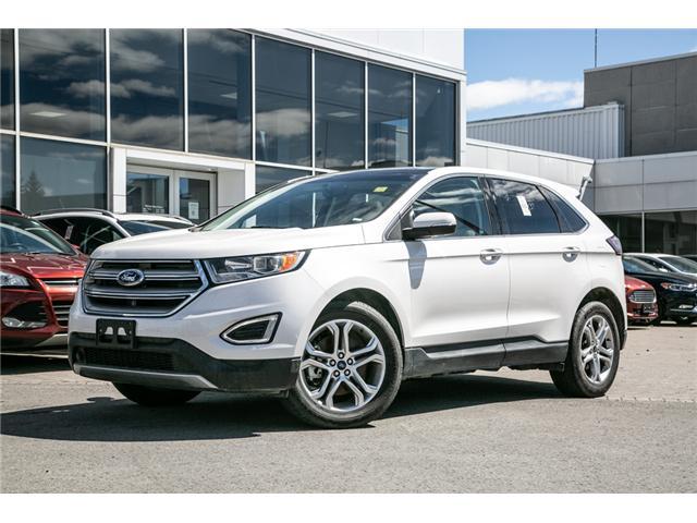 2018 Ford Edge LEATHER-NAV-LOADED--SALE PRICED TITANIUM (Stk: 949020) in Ottawa - Image 1 of 30
