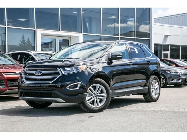 2018 Ford Edge SEL AWD-LEATHER-POWER ROOF NAV (Stk: 948740) in Ottawa - Image 1 of 28
