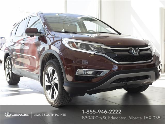 2016 Honda CR-V Touring (Stk: L900404A) in Edmonton - Image 1 of 21