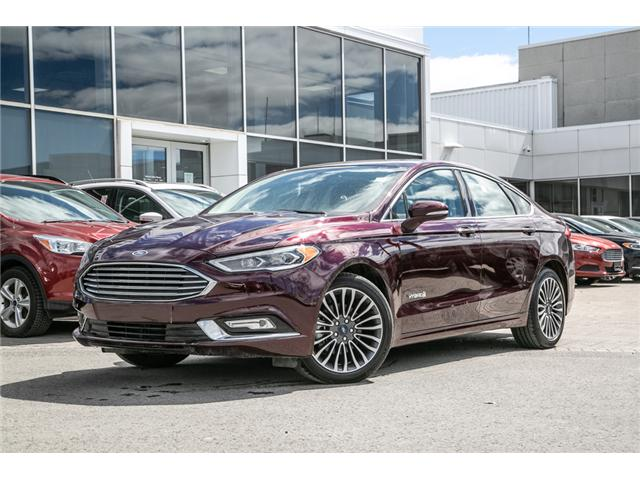 2018 Ford Fusion Hybrid TITANIUM LEATHER-NAV-POWER ROOF HYBRID (Stk: 949900) in Ottawa - Image 1 of 30