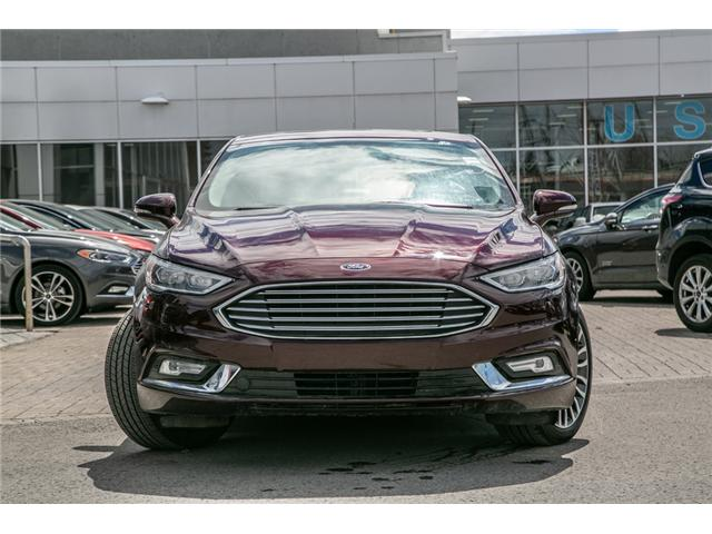 2018 Ford Fusion Hybrid TITANIUM LEATHER-NAV-POWER ROOF HYBRID (Stk: 949900) in Ottawa - Image 2 of 30