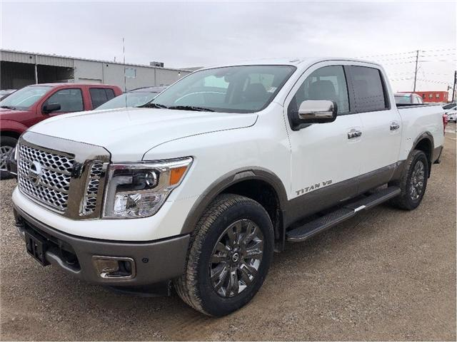2018 Nissan Titan Platinum (Stk: U1096) in Cambridge - Image 1 of 5