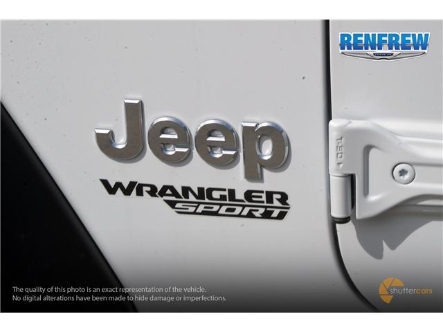 2019 Jeep Wrangler Sport (Stk: K176) in Renfrew - Image 6 of 20