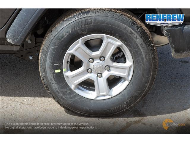 2019 Jeep Wrangler Unlimited Sport (Stk: K184) in Renfrew - Image 5 of 20