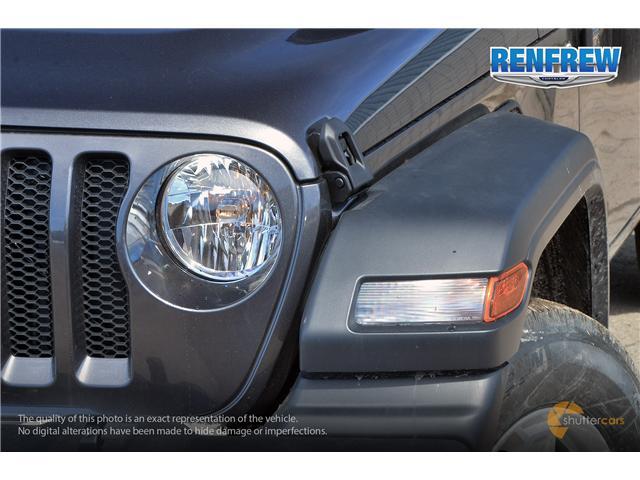 2019 Jeep Wrangler Unlimited Sport (Stk: K184) in Renfrew - Image 8 of 20