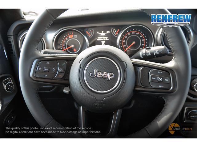 2019 Jeep Wrangler Unlimited Sport (Stk: K184) in Renfrew - Image 12 of 20