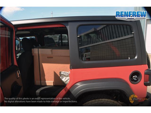 2019 Jeep Wrangler Unlimited Sport (Stk: K200) in Renfrew - Image 9 of 20