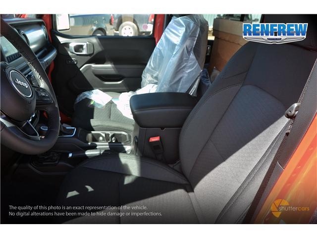 2019 Jeep Wrangler Unlimited Sport (Stk: K200) in Renfrew - Image 11 of 20