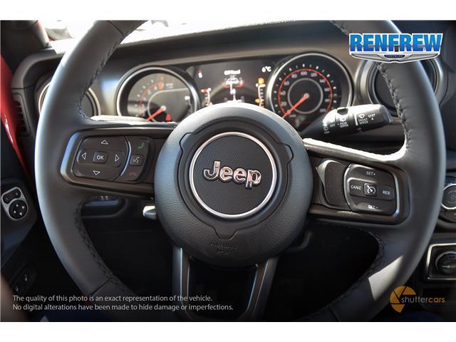 2019 Jeep Wrangler Unlimited Sport (Stk: K200) in Renfrew - Image 12 of 20
