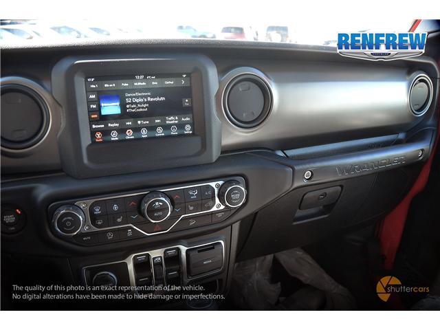 2019 Jeep Wrangler Unlimited Sport (Stk: K200) in Renfrew - Image 14 of 20