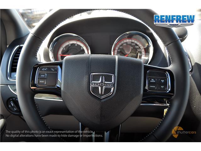 2019 Dodge Grand Caravan CVP/SXT (Stk: K201) in Renfrew - Image 13 of 20