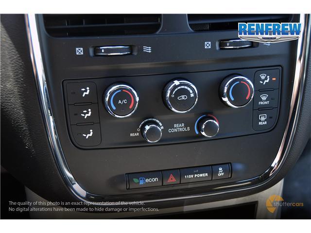 2019 Dodge Grand Caravan CVP/SXT (Stk: K201) in Renfrew - Image 18 of 20