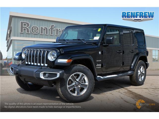 2019 Jeep Wrangler Unlimited Sahara (Stk: K204) in Renfrew - Image 2 of 20