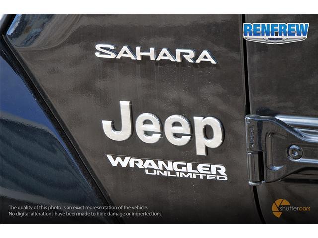 2019 Jeep Wrangler Unlimited Sahara (Stk: K204) in Renfrew - Image 6 of 20