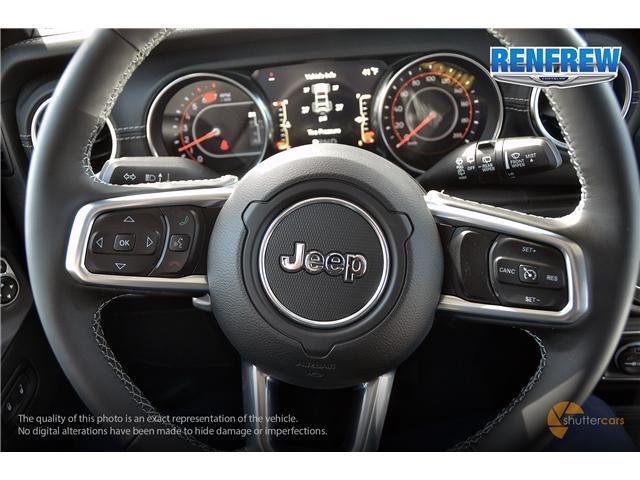 2019 Jeep Wrangler Unlimited Sahara (Stk: K204) in Renfrew - Image 12 of 20