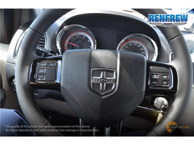 2019 Dodge Grand Caravan CVP/SXT (Stk: K205) in Renfrew - Image 13 of 20