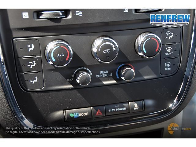 2019 Dodge Grand Caravan CVP/SXT (Stk: K205) in Renfrew - Image 16 of 20