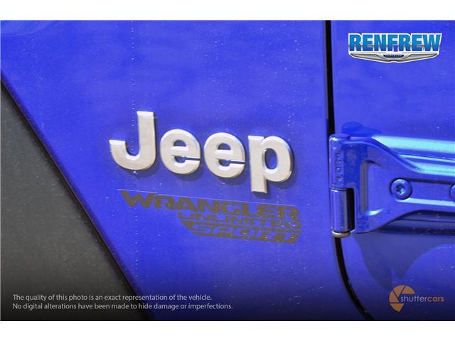 2019 Jeep Wrangler Unlimited Sport (Stk: K212) in Renfrew - Image 6 of 20