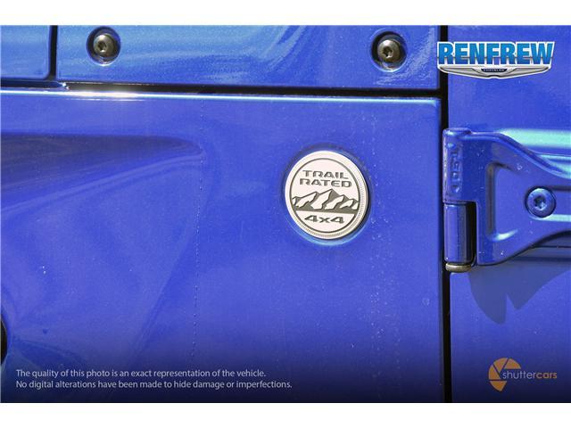 2019 Jeep Wrangler Unlimited Sport (Stk: K212) in Renfrew - Image 7 of 20