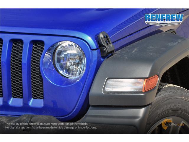 2019 Jeep Wrangler Unlimited Sport (Stk: K212) in Renfrew - Image 8 of 20