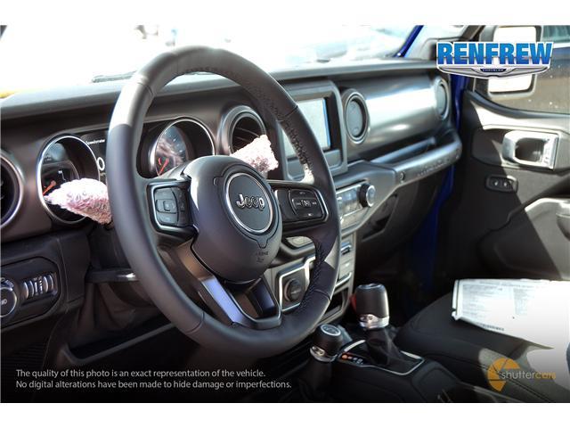 2019 Jeep Wrangler Unlimited Sport (Stk: K212) in Renfrew - Image 11 of 20