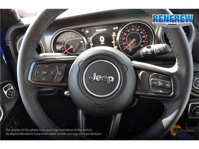 2019 Jeep Wrangler Unlimited Sport (Stk: K212) in Renfrew - Image 13 of 20